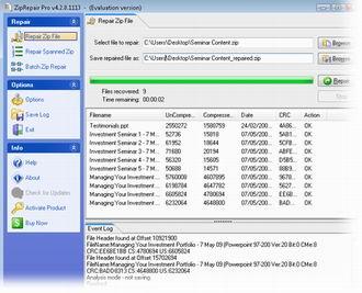 Repair Corrupt Zip Files with Zip Repair Pro